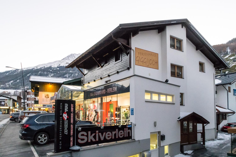 Sölden Lejlighed Ferienhaus Giggijoch