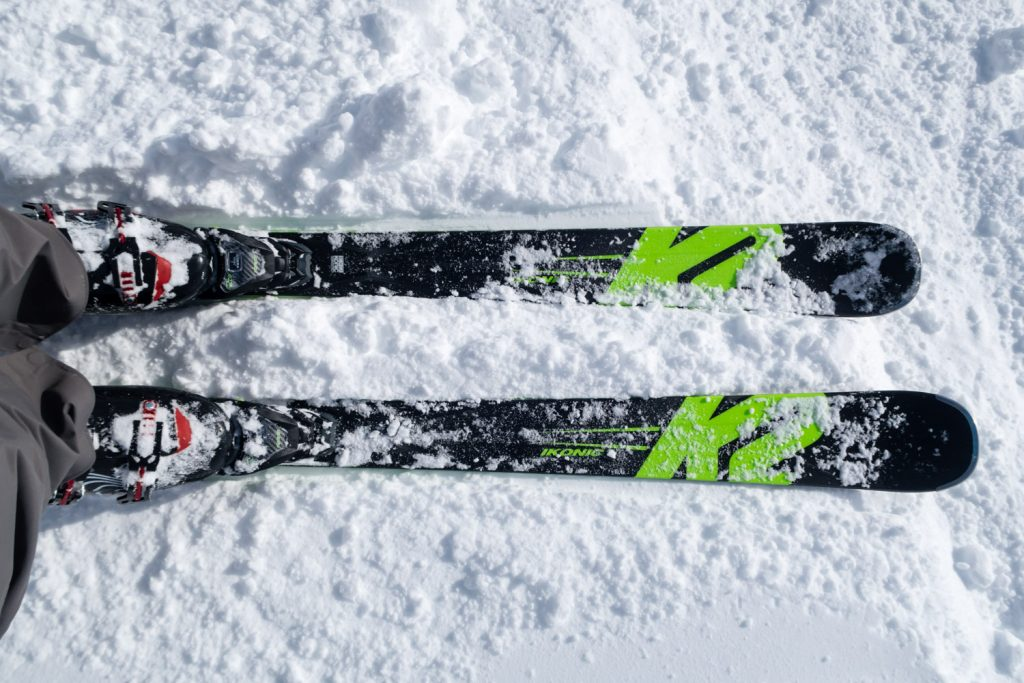 Test af all mountain ski