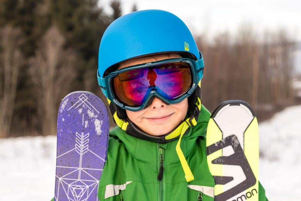 Sådan vælger du de rigtige ski til dit barn