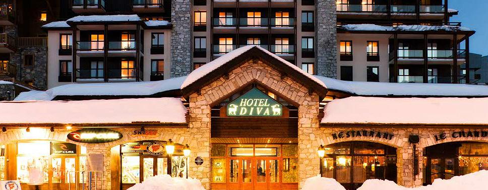 Tignes Hotel Diva