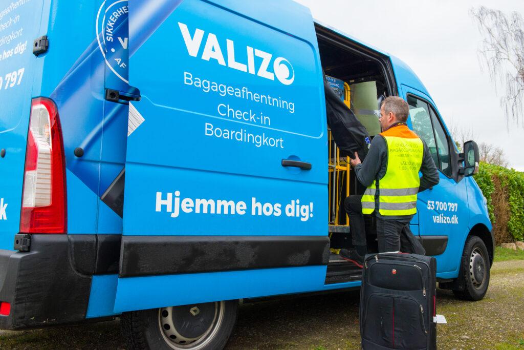 VALiZO bagageafhentning